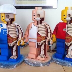 Anatomy of a Lego Man Jason Freeny