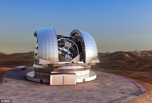 Teleskop terbesar yang mampu melihat pegunungan di planet lain