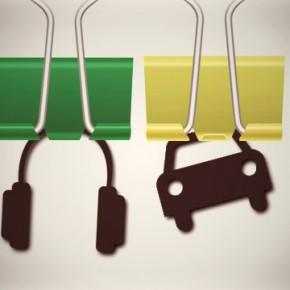 binder clip diy
