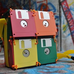 floppy disk storage bag