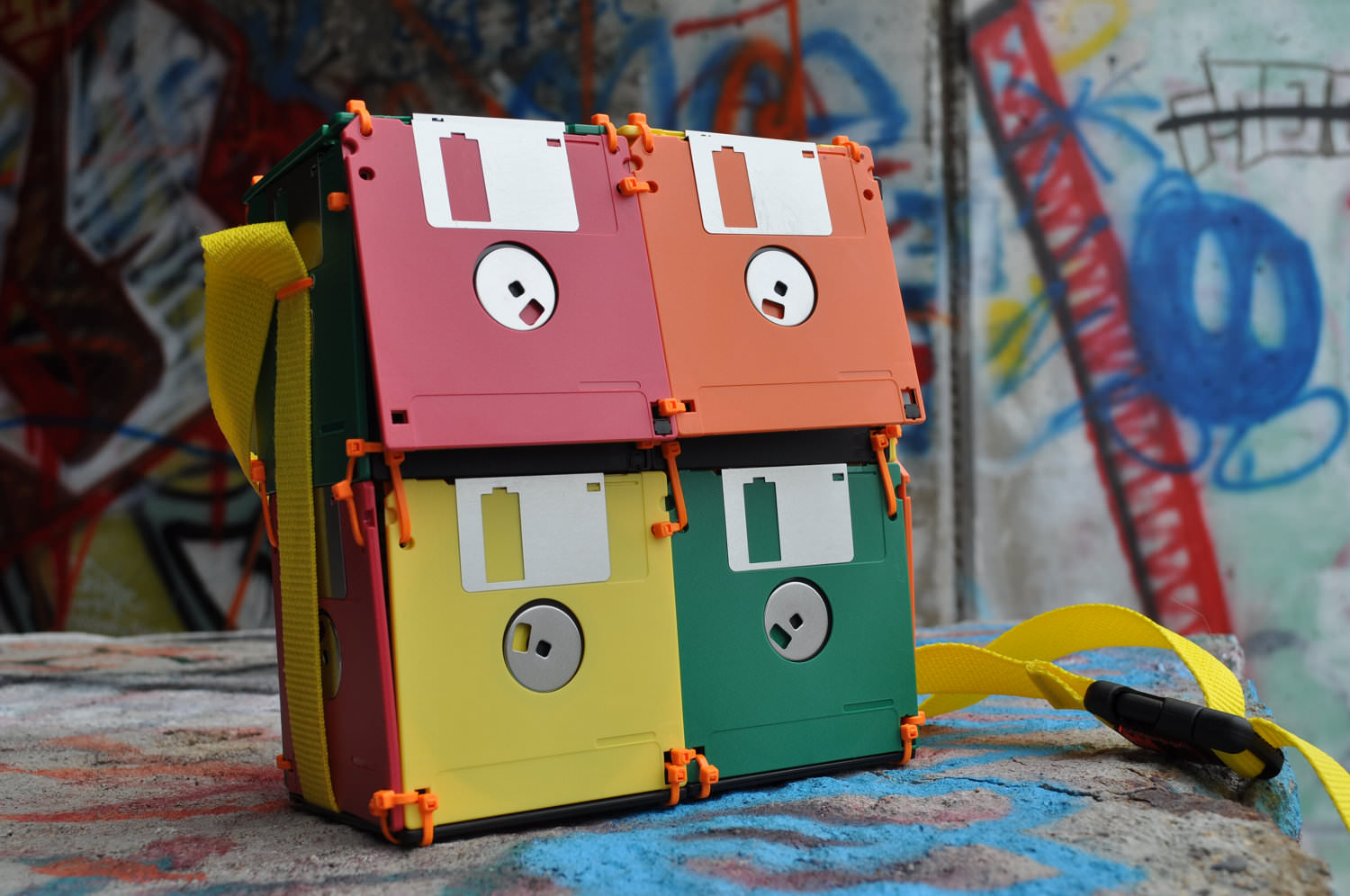 floppy disk storage bag