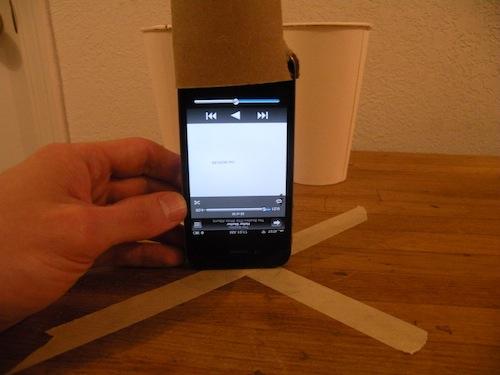 pengeras suara roll tisu toilet