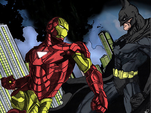 Batman Iron Man Ign   Batman Beyond Vs Ironman