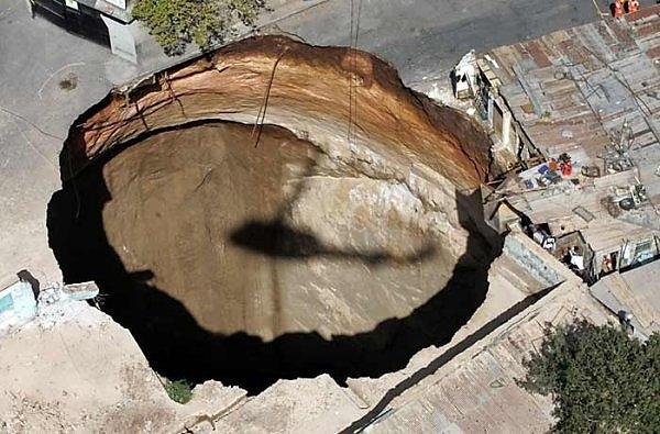 Guatemala Sinkhole, 2007