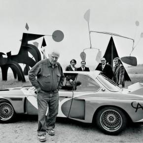 First BMW Art Car by Alexander Calder