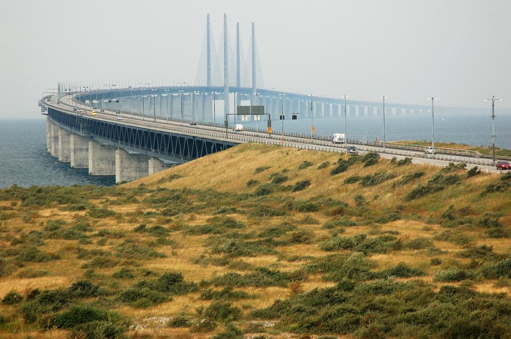jembatan oresung denmark swedia