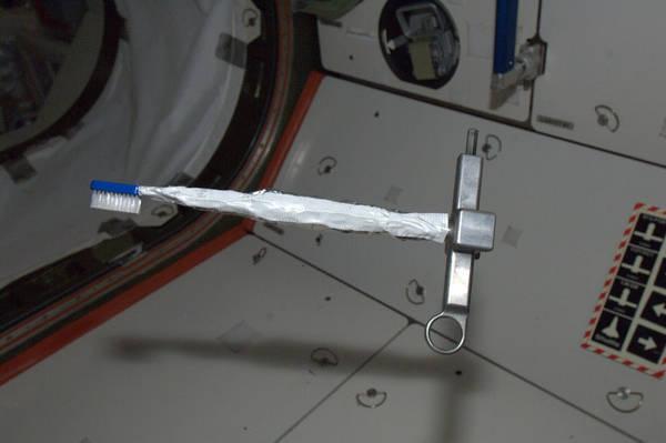 Sikat Gigi Ini Telah Menyelamatkan Stasiun Ruang Angkasa Internasional [ www.BlogApaAja.com ]