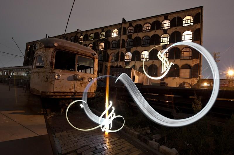 photography long exposure calligraphy julian breton 13