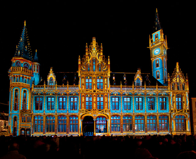 festival lampu ghent belgia 2