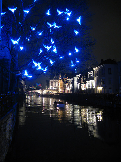 festival lampu ghent belgia 3
