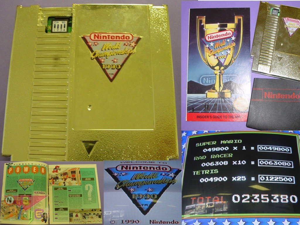 Nintendo World Championship Cartridge
