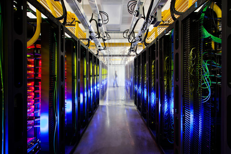 google data center campus network