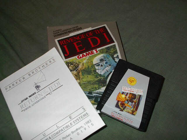 Star Wars Ewok Adventure Cartridge