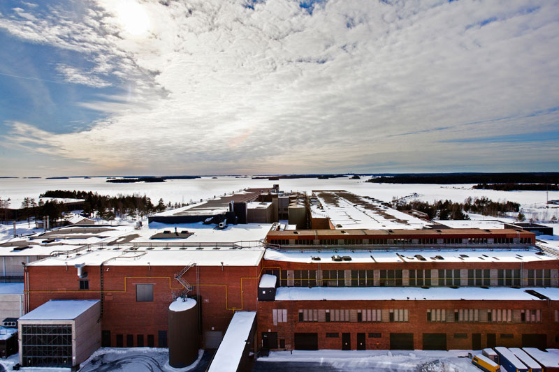 google data center european hamina finlad exterior