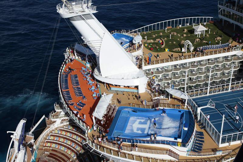 kapal pesiar terbesar di dunia allure of the seas 4