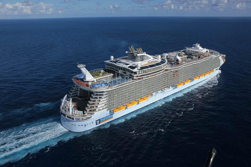 kapal pesiar terbesar di dunia allure of the seas 5