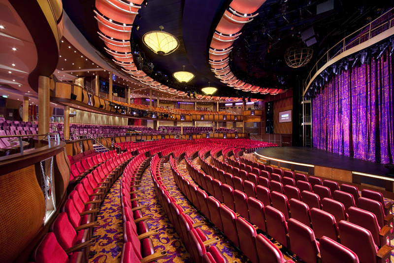 amber theater kapal pesiar terbesar di dunia allure of the seas 6