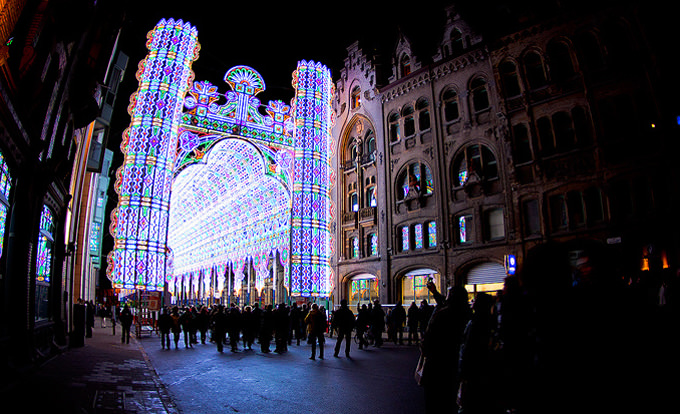 festival lampu ghent belgia 5