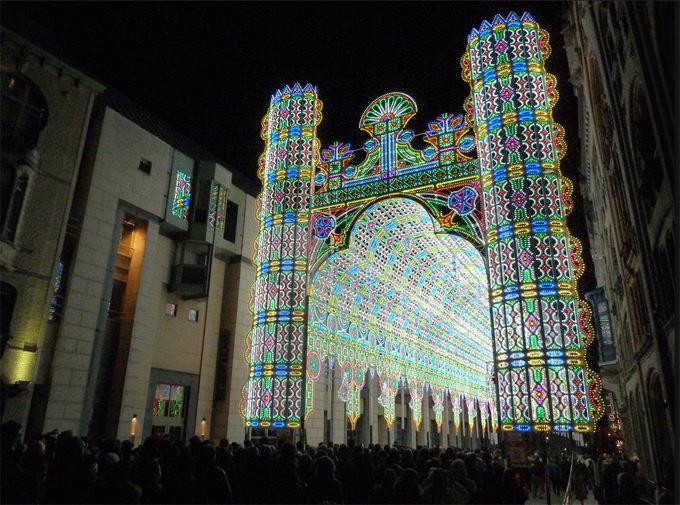 festival lampu ghent belgia 6