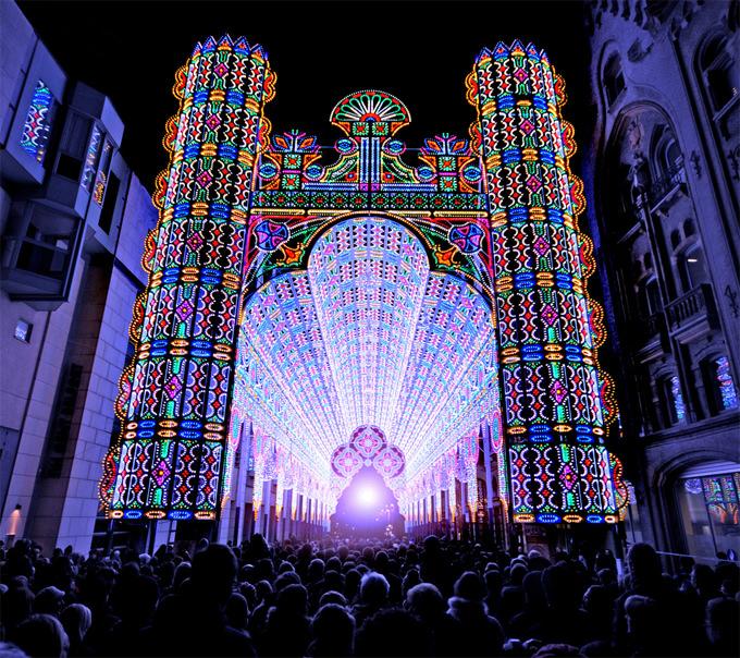 festival lampu ghent belgia 7