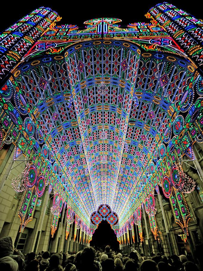 festival lampu ghent belgia 8