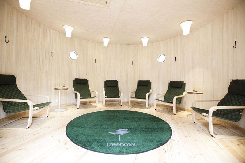 sauna hut hotel pohon swedia 3