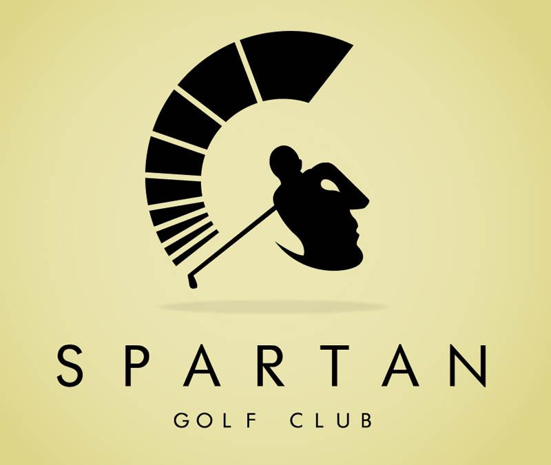 simbol tersembunyi dalam logo spartan golf