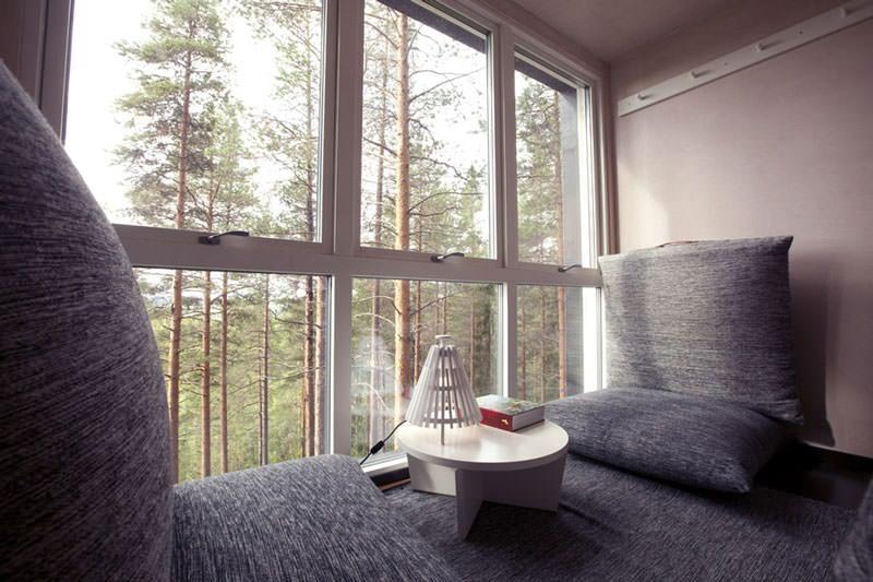 hotel pohon swedia cabin room 2