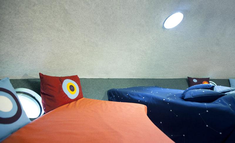 hotel pohon swedia ufo room 3