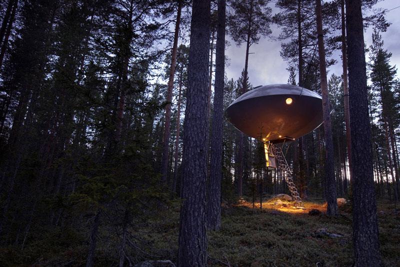 hotel pohon swedia ufo room 4