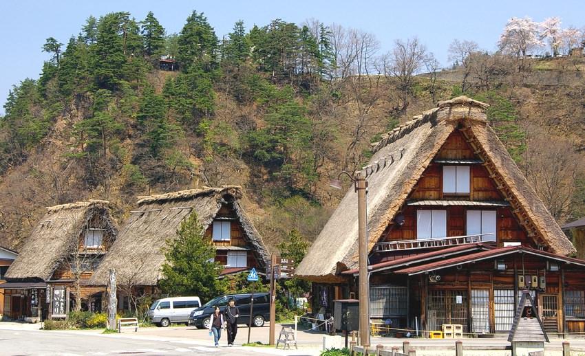 ogimachi rumah tradisional jepang 2