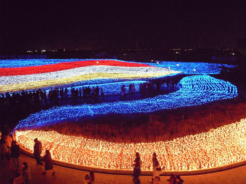 festival lampu musim dingin jepang 5