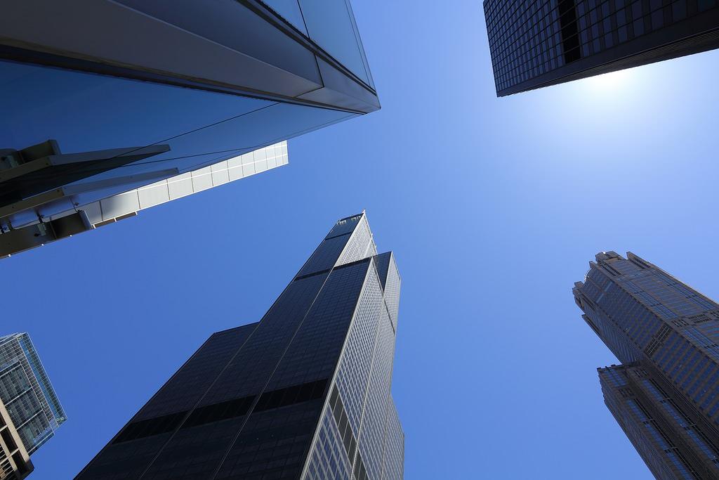 Transparent Balcony of floor 103 in Chicago 6