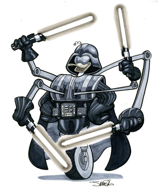 Karakter Disney dalam Star Wars 07