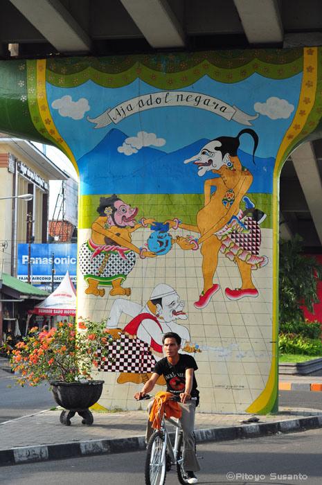 Japong for Mural yogyakarta