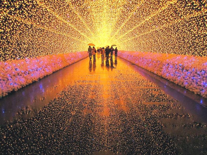 festival lampu musim dingin jepang 2