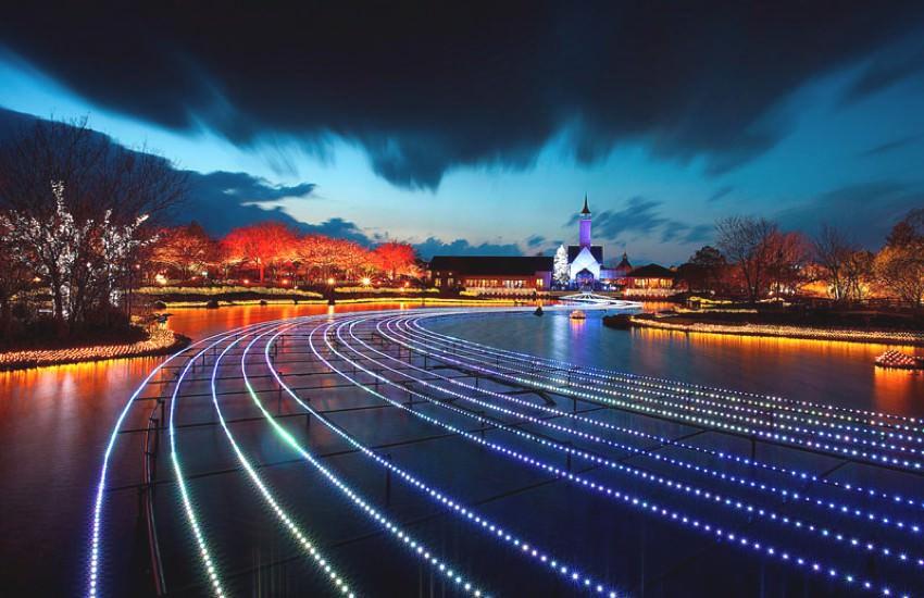 festival lampu musim dingin jepang 6