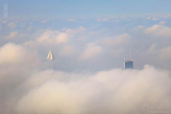 gedung pencakar langit shanghai 2
