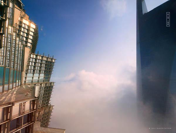 gedung pencakar langit shanghai 3