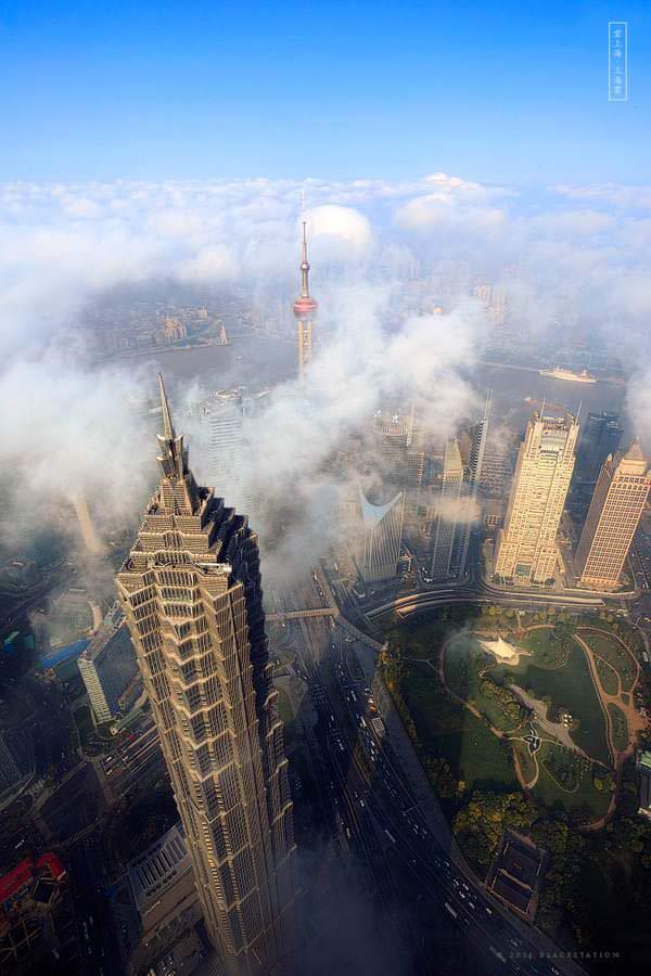 gedung pencakar langit shanghai 4