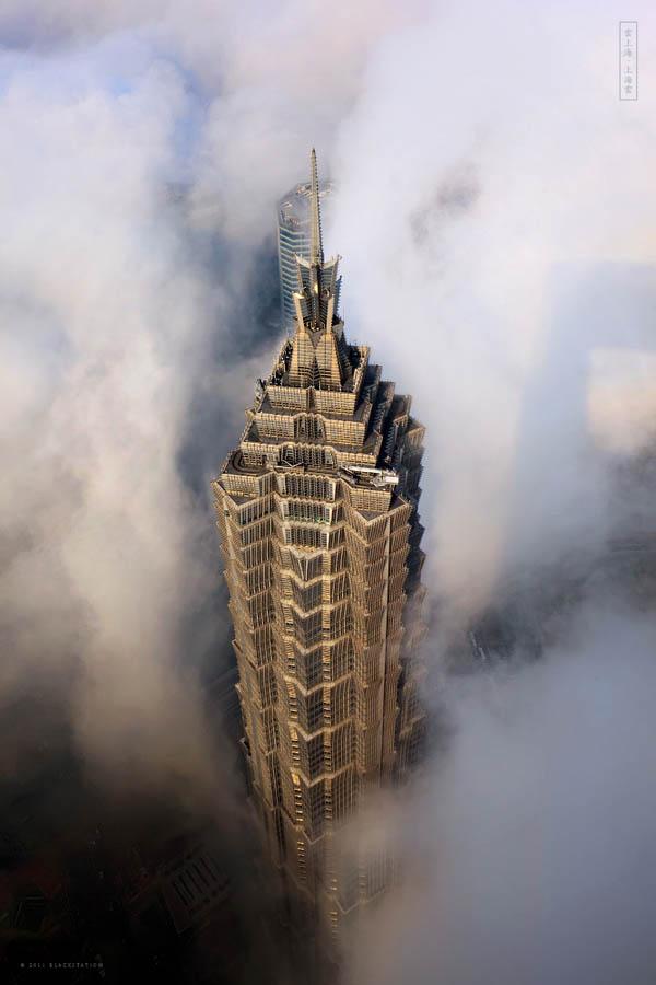 gedung pencakar langit shanghai 6