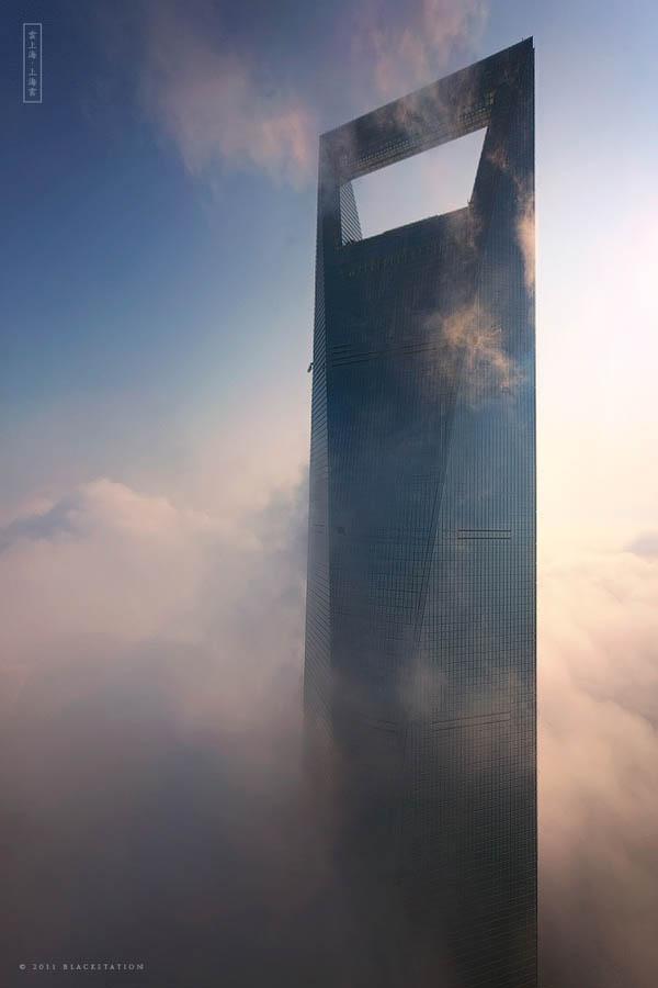 gedung pencakar langit shanghai 8