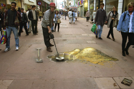 Julian Breever chalk 3d street art 11
