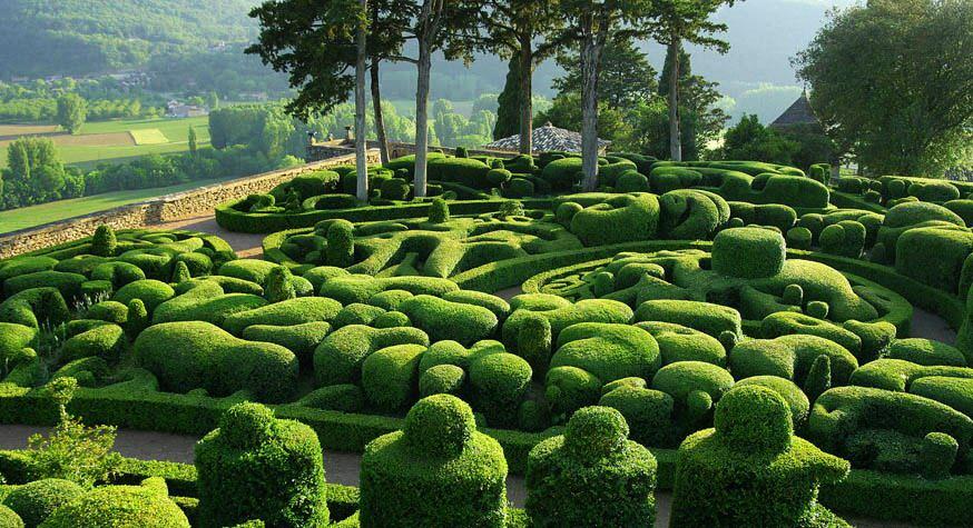 Taman Marqueyssac Perancis 8