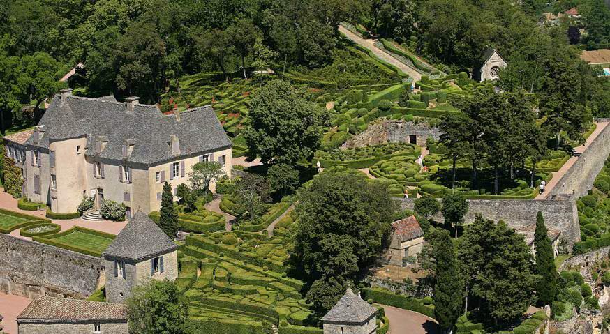 Taman Marqueyssac Perancis