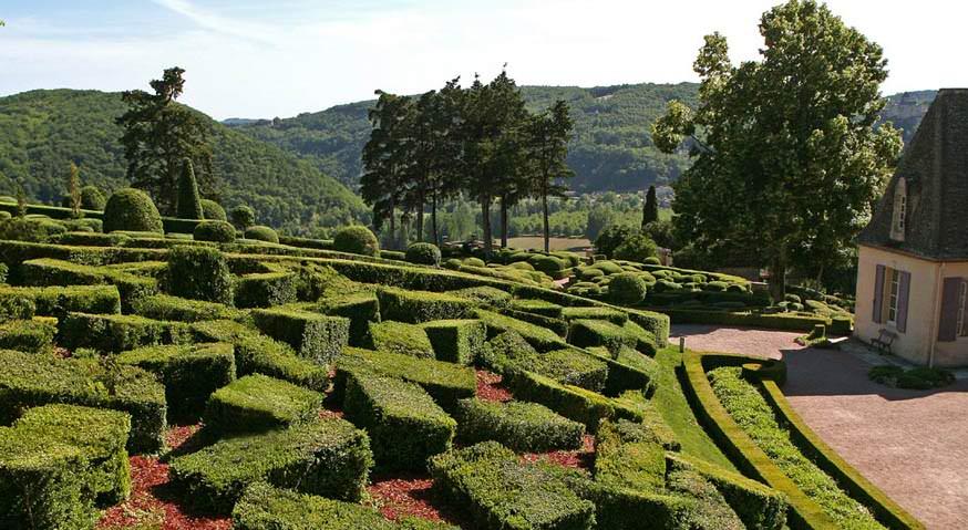 Taman Marqueyssac Perancis 2