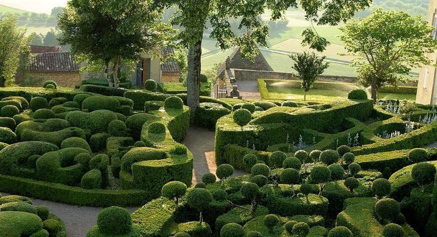Taman Marqueyssac Perancis 4