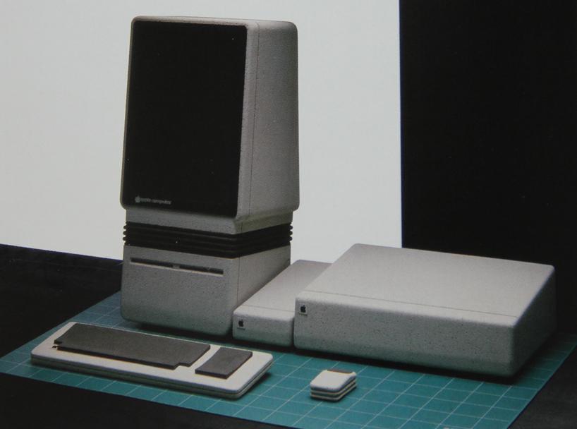 desain awal apple 8