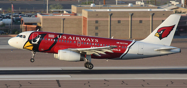 us airways arizona cardinals