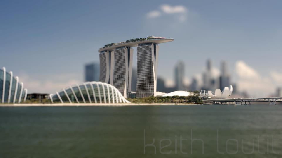 marina bay time lapse video